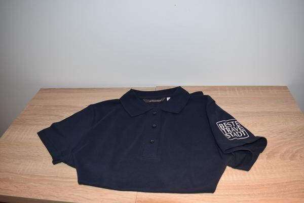 Polo-Shirt Beste-Trave-Stadt Bad Oldesloe