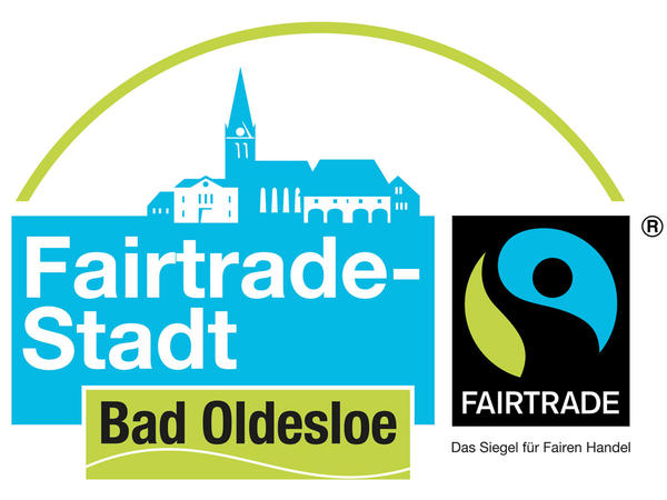 Fairtrade Kampagnenlogo Bad Oldesloe